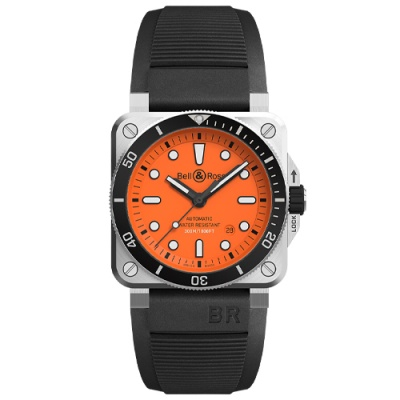 Bell & Ross Instruments Diver BR0392-D-O-ST