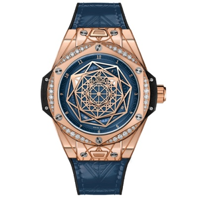Hublot Big Bang One Click Sang Bleu 465.OS.7189.VR.1204